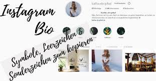 Symbole Leerzeichen Sonderzeichen Zum Kopieren Instagram Tipps