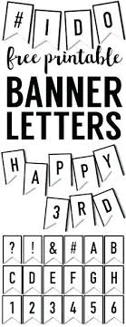 Letter For Banner Free Printable Letters For Banners Entire Alphabet Letter For Banner