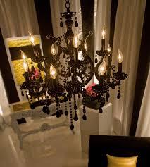 maria theresa medium black chandelier