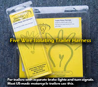 1997 2013 harley plug and play trailer wiring tw hd 97to13 gold wing trailer wiring harness