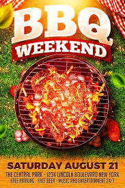 Barbecue Flyers Bbq Weekend Flyer Template Xtremeflyers