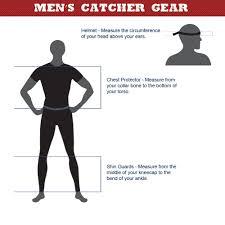 Baseball Shin Guard Size Chart Baseball Catchers Gear Size Chart Baseball Catchers Gear