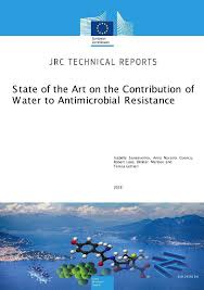 State of the <b>art</b> on the contribution of <b>water</b> to antimicrobial <b>resistance</b>
