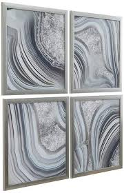 agate wall art on framed 10 silver squares wall art with top 10 best agate wall art for your home heavy