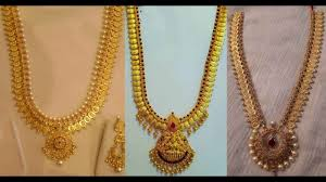 Latest Gold Haram Designs In 40 Grams Latest Light Weight Gold Long Haram Designs 70grams By