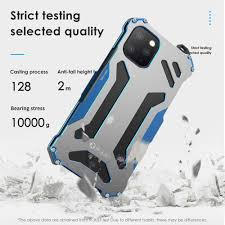 R JUST Case For iPhone 11 Pro Max 2019 Case Armor Gundam Waterproof  shockproof Aluminum Metal Case for iPhone 11 Pro X XS Max XR|Phone Case &  Covers