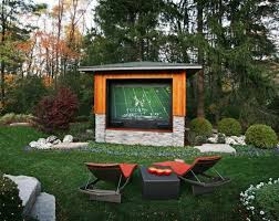 Outdoor man cave space