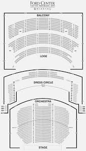 Nederlander Seating Chart Chicago 47 All Inclusive The Chicago Theater Seating