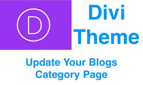 Divi Theme - How To Change Category Page Images (2018) - Hang Ten SEO