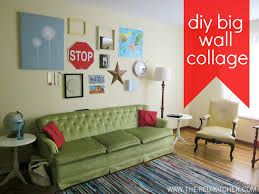 wednesday may 9 2012 on big wall art diy with the red kitchen diy big wall collage