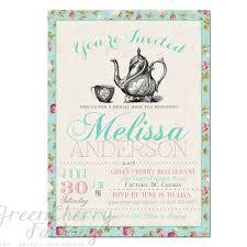 tea party templates free bridal shower tea party invitation templates kitchen tea pa