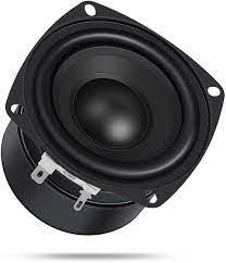 DROK 25W 3 Inch Square Shape Woofer Speaker Stereo Loudspeaker 4 Ohm  Computer Compact Speakers, DIY Home Car Audio HiFi Speakers Bass 90Hz-5KHz  : Amazon.ca: Electronics