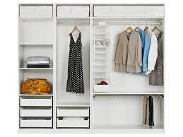Storage Ikea Pax Closet System Ideas Cool White DMA Homes 66114