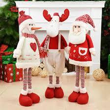 Santa Claus Snowman <b>Toy Christmas Dolls christmas</b> tree ...