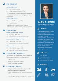 Modern Resume Template Oddbits Studio Free Download Free Resume For Software Engineer Fresher Veera Resume Resume