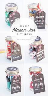 diy office gifts. 6 Simple Mason Jar Gifts With Printable Tags To Make Gift Giving Easy And Inexpe. Diy Office