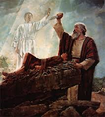 Image result for picture of abraham standing before God