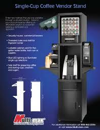 k cup vending machine. Brilliant Machine Single Cup Stand With K Vending Machine L