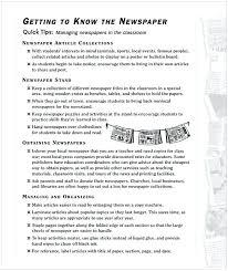 Kids Newspaper Template Newspaper Template For Kids Cycling Studio