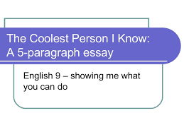 paragraph essay construction
