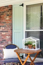 DIY Craftsman Exterior Shutters - Faux window shutters exterior