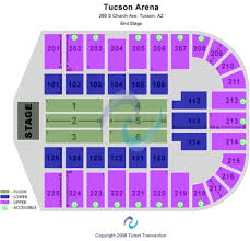 Tucson Convention Center Tickets And Tucson Convention