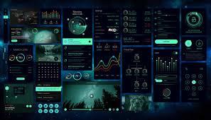 Sci Fi Chart Sci Fi Charts Ui Kits Bussolini Design