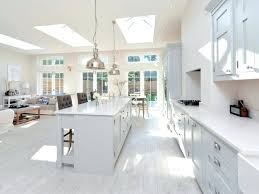 polished concrete floor kitchen. White Concrete Floor Astounding Design Of The Kitchen Areas With Cabinets And Island . Polished