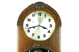 traditional wall clock pendulum oak finish antique clocks with suppliers pe