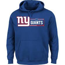 York New Nfl Hooded Giants Sweatshirt Men's