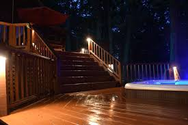 full image for outdoor led deck lighting patio deck led lighting led deck lighting outdoor low