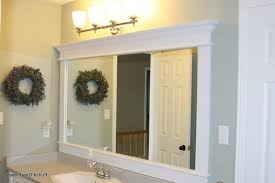 Bathroom Mirror Ideas To Inspire You [BEST] | Bathroom mirrors, Frame bathroom  mirrors and Bathroom mirror makeover