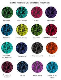 Amethyst Color Chart Semi Precious Gems