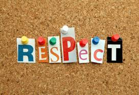 Essay on being respectful