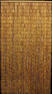 plain bamboo beaded curtain 90 strands 35 x