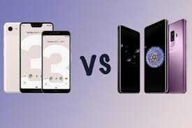 Google Pixel Size Chart Google Pixel 3 And 3 Xl Vs Samsung Galaxy S9 And S9