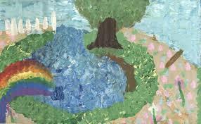 Flower Fields Paper Mario Flower Fields Paper Mario Me Acrylic On Cardboard 2018