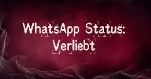 Bildergalerie Whatsapp Status Verliebt Freewarede