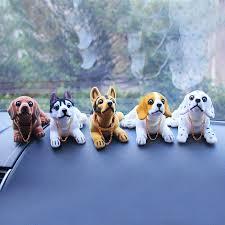 bobble head dog car dashboard home decor gift doll bobbing nodding nodder