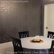 Small Picture Modern Wall Stencils DIY Floor Stencils for Painting Royal