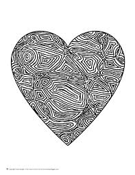 Small Picture Simple Heart Mandala Coloring Pages Coloring Coloring Pages