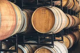 oak barrels stacked top. Oak Barrels And Alternatives In Winemaking Stacked Top T