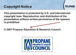 sample copyright notices termsfeed example of the standard copyright notice and symbol in presentation from propane council