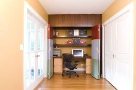 office in closet ideas. Closeted Home Office In Closet Ideas N