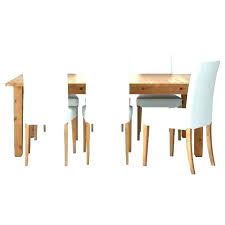 modern gl and stainless set dining room ikea table chairs fit under