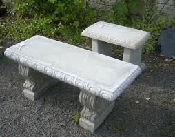 cement garden bench. Simple Cement Cement Garden Bench 01 To