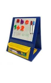 Godery Magnetic Desktop Tabletop Pocket Chart Stand Double