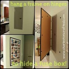 9 best covering a breaker box images on pinterest Fuse Box To Breaker Box hang a frame on hinges to hide a breaker box fuse box to breaker box cost