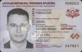 Wikipedia - Card Identity Latvian