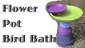 <b>Flower Pot Bird</b> Bath - YouTube